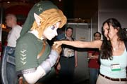 Link gets friendly