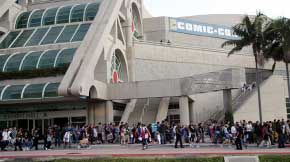 Comic Con is the only event that takes up the ENTIRE San Diego Convention Center